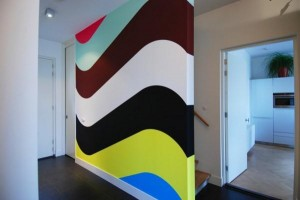 feature wall paint